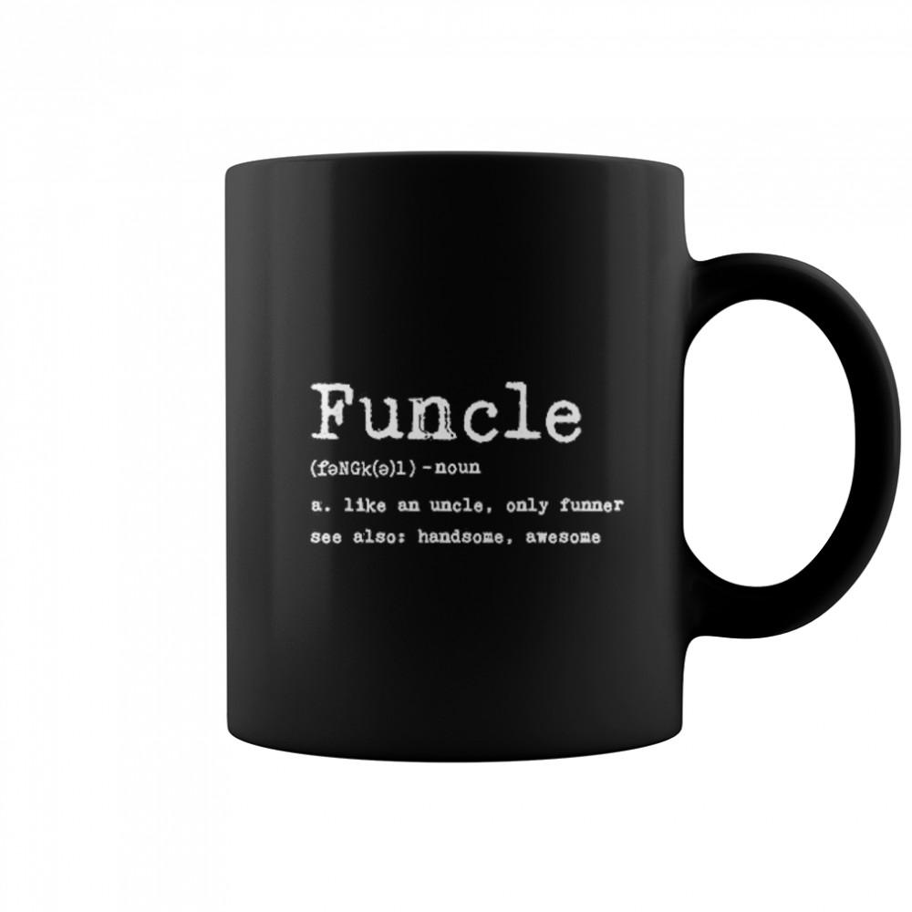Thumb Funcle Definition  Coffee Mug (colored)