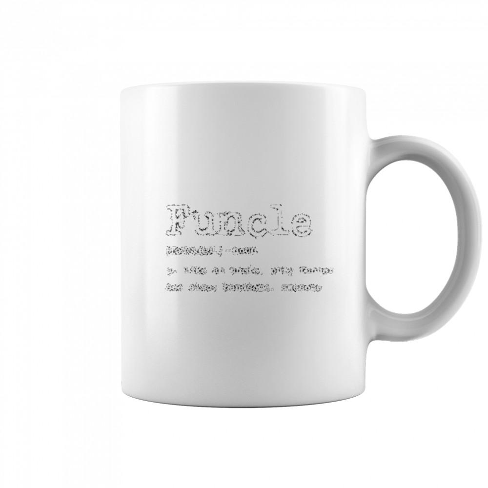 Thumb Funcle Definition  Coffee Mug (white)