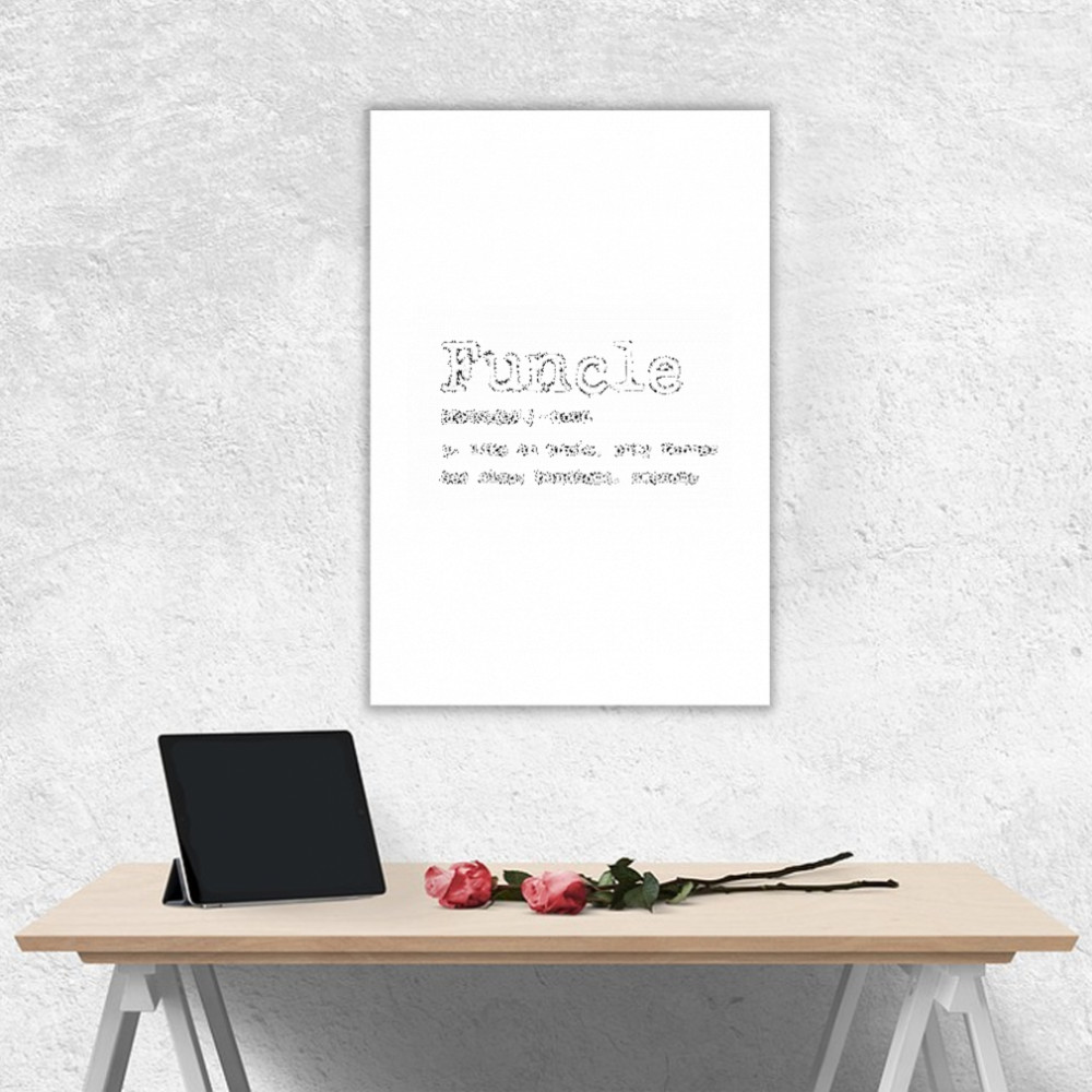 Thumb Funcle Definition  Posters Portrait