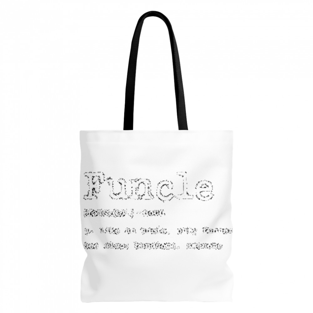 Thumb Funcle Definition  Tote Bag