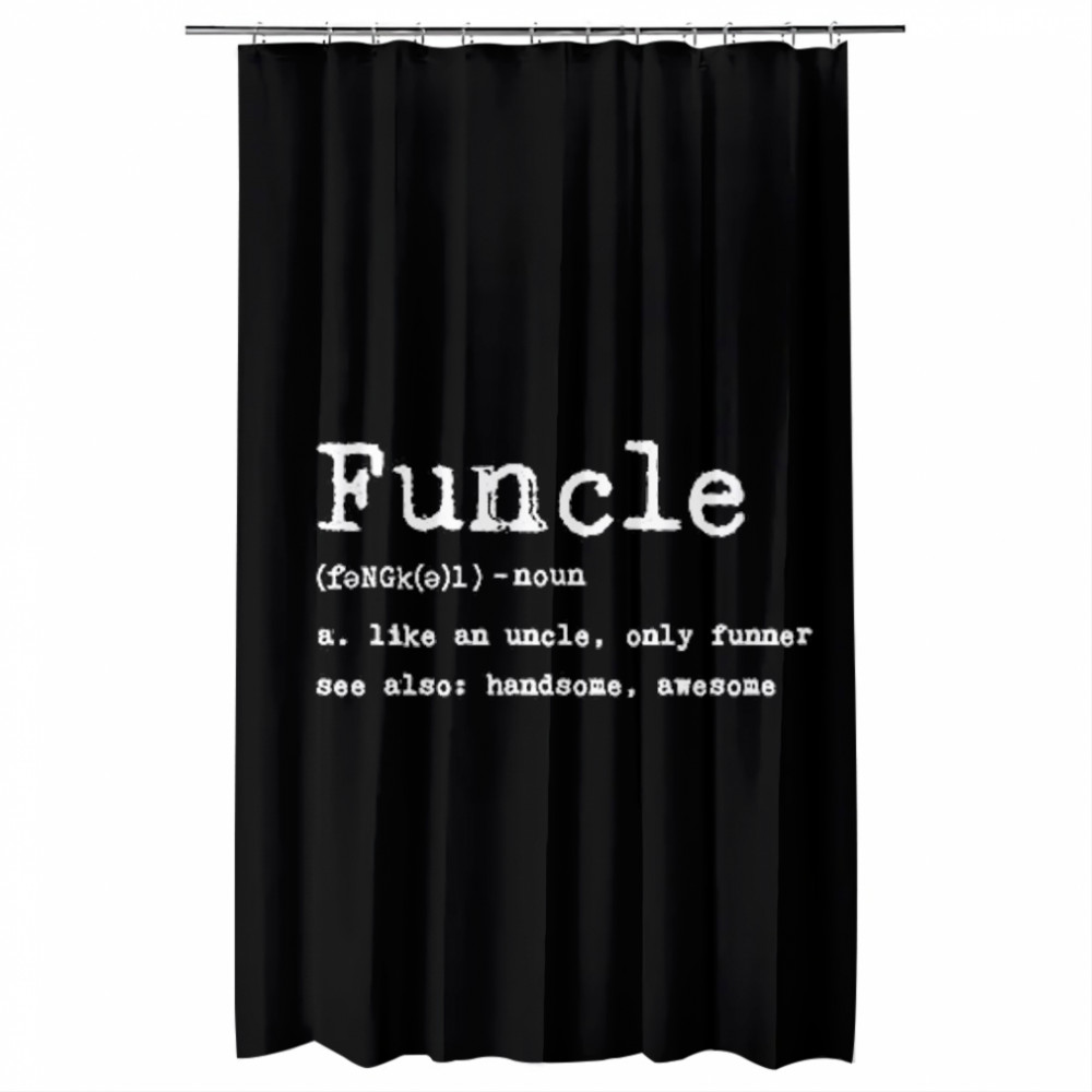 Thumb Funcle Definition  Shower Curtains