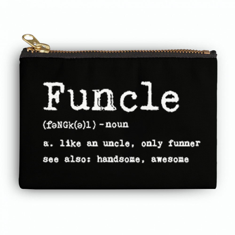Thumb Funcle Definition  Zipper Pouch
