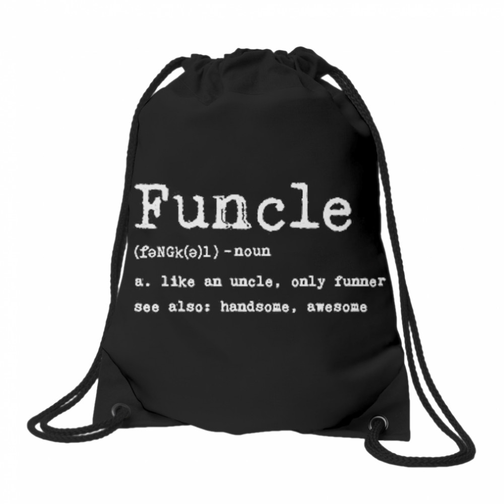 Thumb Funcle Definition  Drawstring Bag