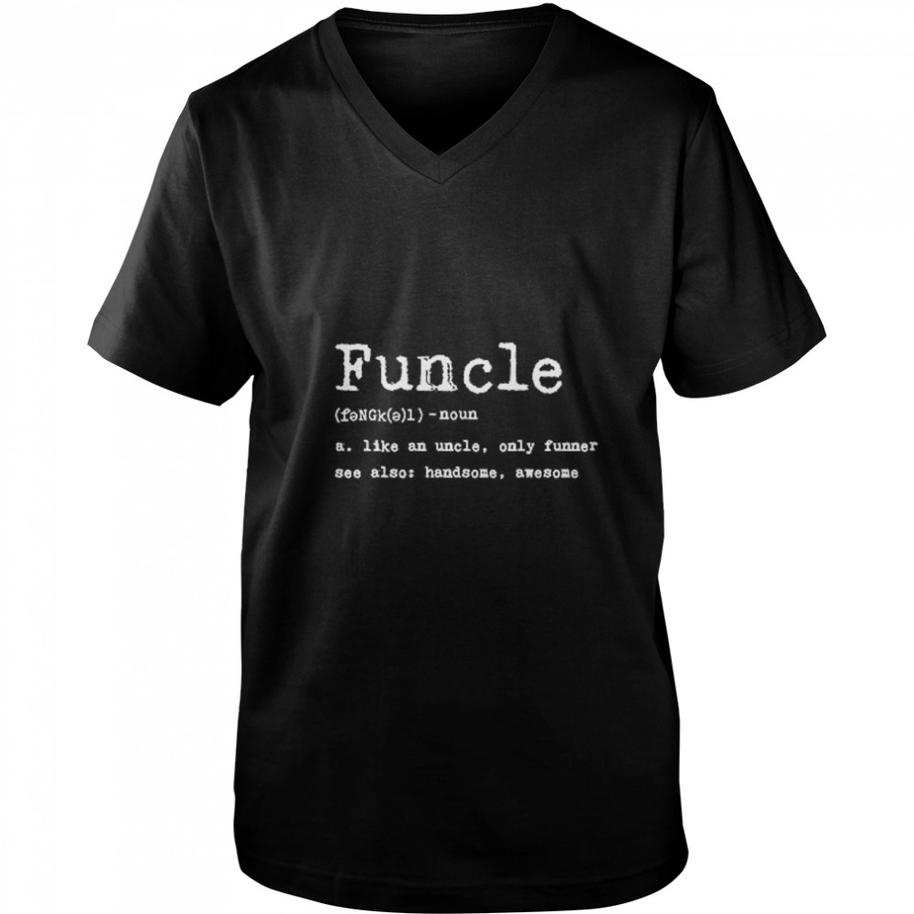 Thumb Funcle Definition  Guys V-Neck