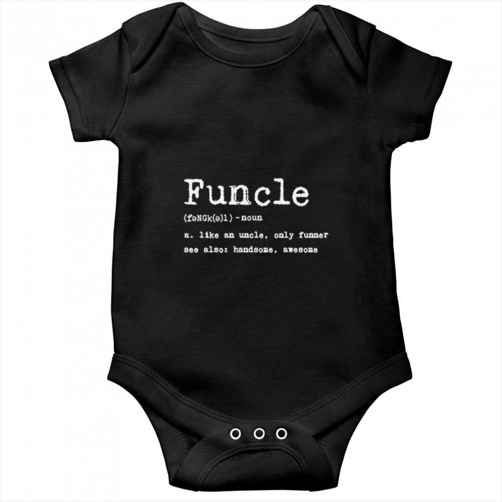 Thumb Funcle Definition  Baby Onesie