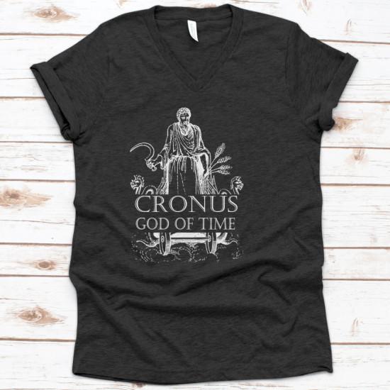 Cronus Greek Titan God Of Time King Mythology
