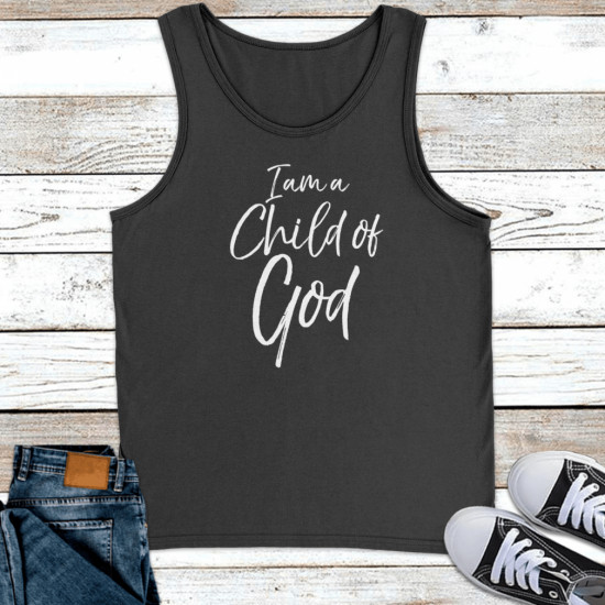 Cute Christian Salvation Quote Gift I Am A Child Of God Premium