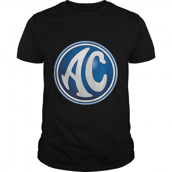 AC RETRO VINTAGE UK MOTORS CAR ENGLAND BRITISH LOGO t-shirt